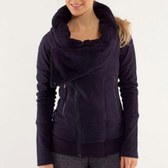 lululemon athletica Jackets & Blazers - WOMEN'S VINTAGE LULULEMON OFF THE MAT JACKET SZ SM